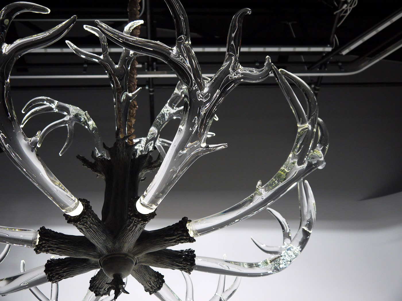 Lwsn The Crystal Antler Chandelier